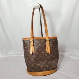 Authentic Louis Vuitton bucket